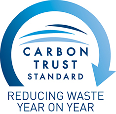 Carbon Trust Standard logo - Reducing Waste