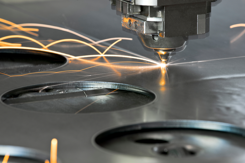 Laser cutting machine application