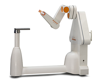 neuromate robot with laser tool