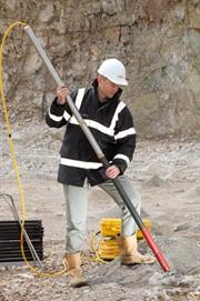 MDL's C-ALS system used for measuring underground voids